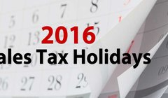 tax holidays